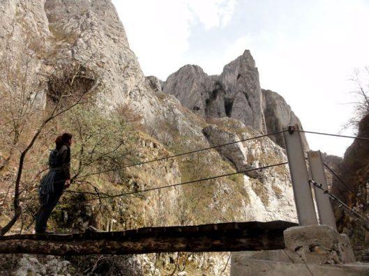 Traseul Grota Sansil, varianta cu tunel
