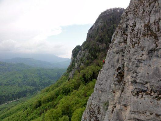 traseu alpinism lupul cel rau
