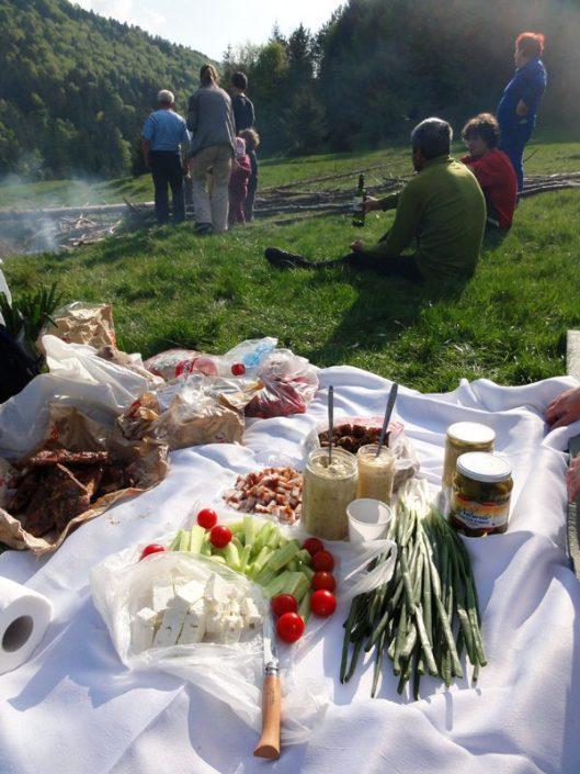 picnic la munte