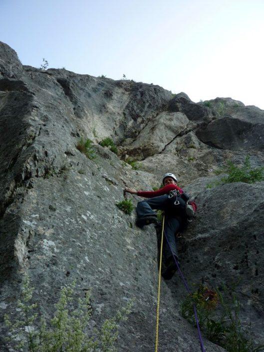 alpinism cheile rasnoavei, romania