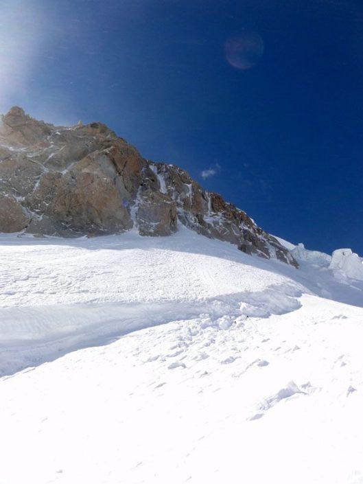 catarare la gheata, Mont Blanc du Tacul