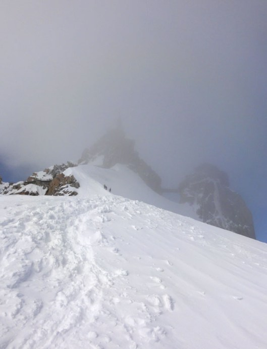 Couloir Chere, Mont Blanc du Tacul