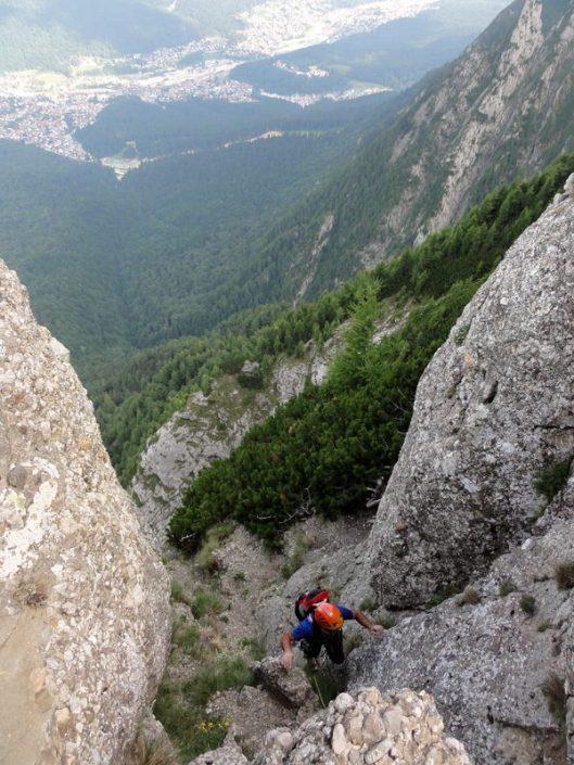 alpinism romania, muntii bucegi