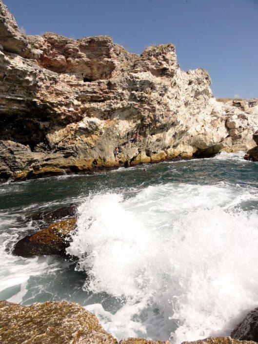 escaladă la mare Bulgaria