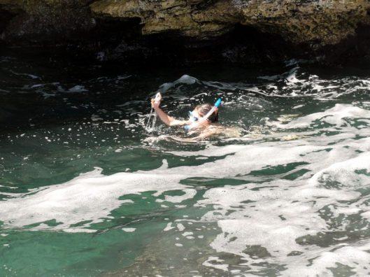 snorkeling  in bulgaria
