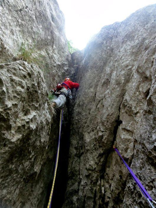 traseul izvor_alpinism Piatra Craiului