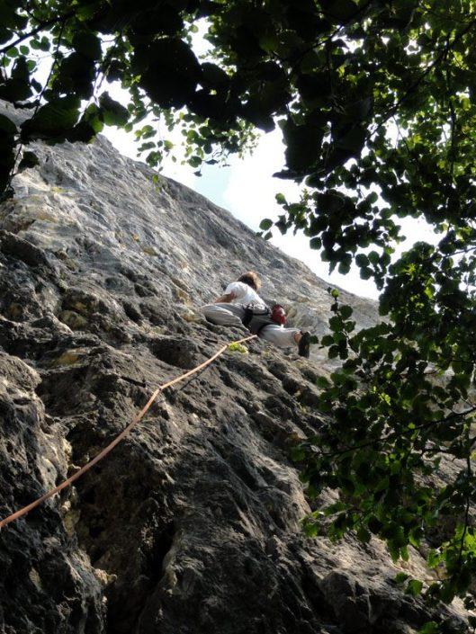 belvedere crag climbing predeal