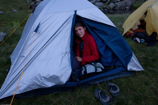 camping in Fagaras, Negoiu