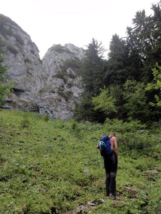 alpinism în Turnurile Dianei