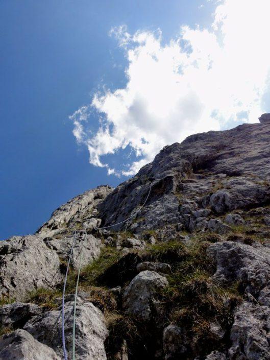 Umărul Padinei Popii_alpinism