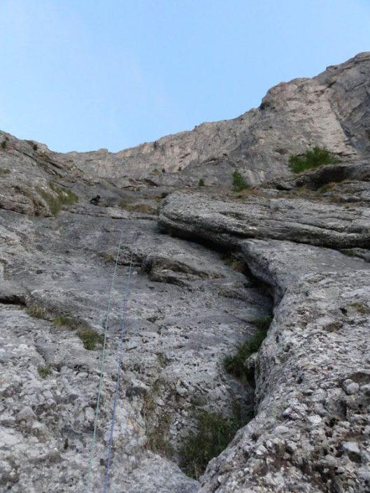 just another fucking day_valea alba_multi-pitch climbing Valea Alba