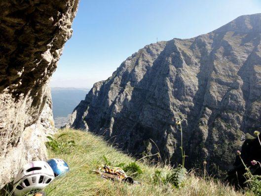 panormă Bucegi, multipitch climbing Romania