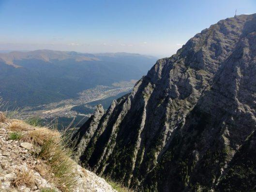 peretele caraiman, albisoarele, mountaineering Romania