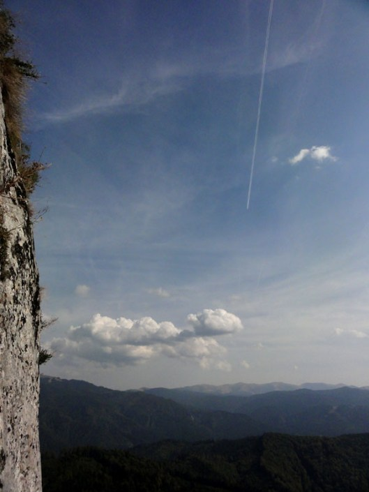 panorma cer munte