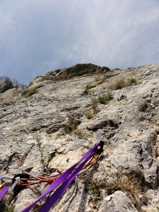 Traseul Catrinel, alpinism catarare in Postavarul