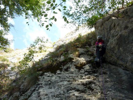 traseul Catrinel, alpinism catarare Postavarul