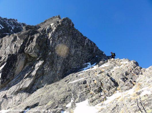 retezat, alpinism iarna, creasta vulturilor