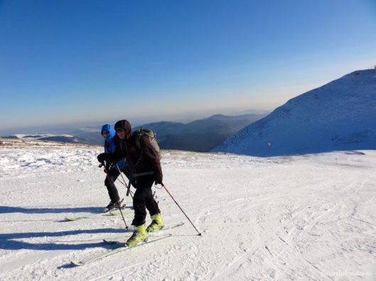 ski de tura partie sinaia