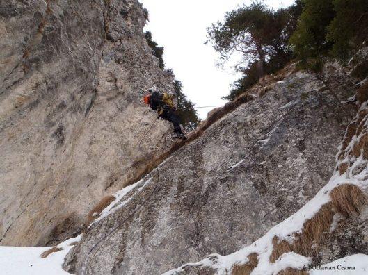 adventure climbing piatra craiului