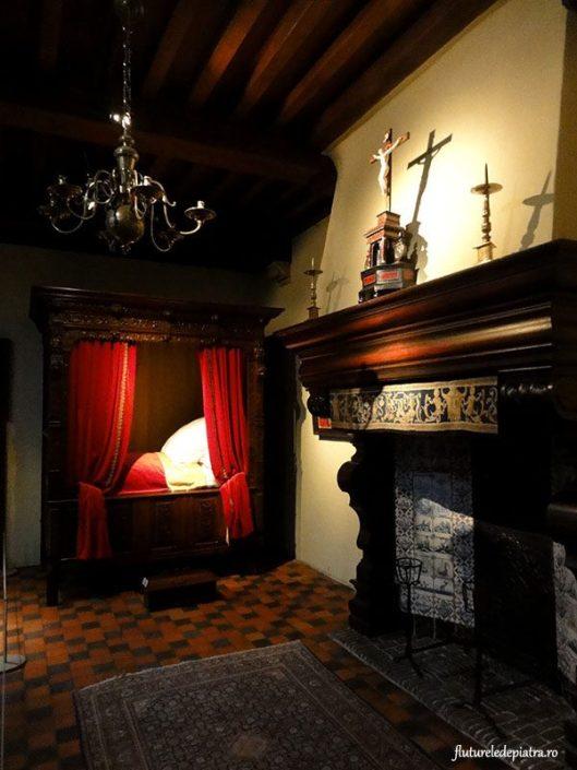 dormitor belgian, muzeul rubens