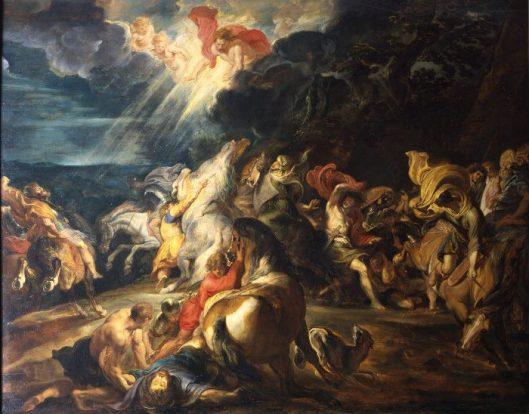 RUBENS CONVERSION OF SAINT PAUL
