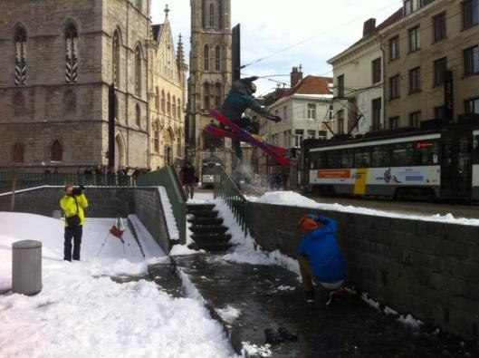 schi extrem în belgia