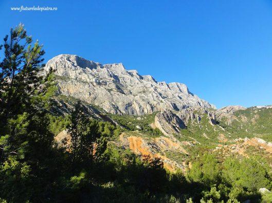 escalada alpinism in masivul Sainte Victorire, Aix en provence