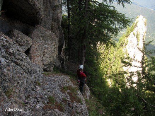 rock climbing romania