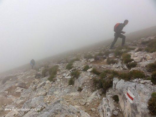 traseul spre varful vihren bulgaria