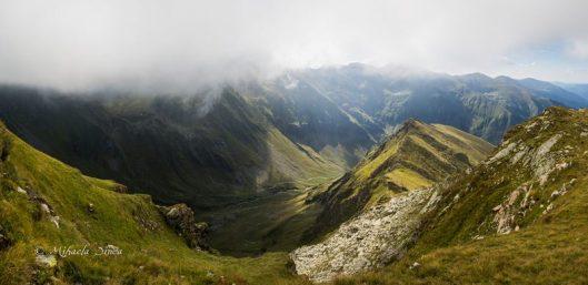 panorama muntii fagaras vf moldoveanu