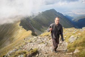 traseu pe moldoveanul, muntii fagaras
