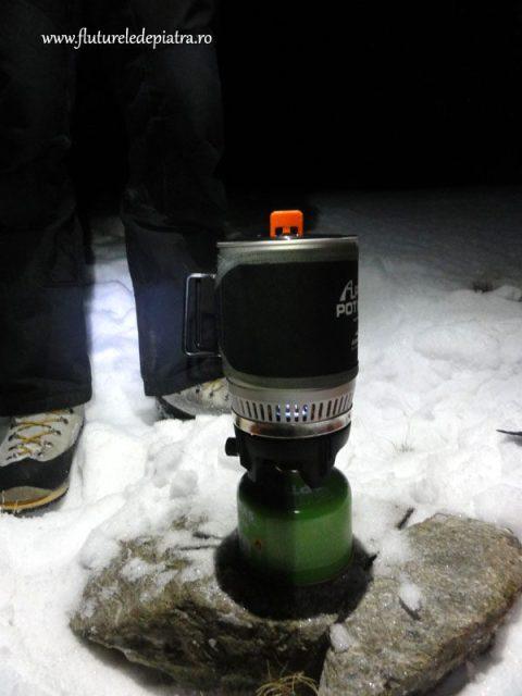 primus iarna la munte