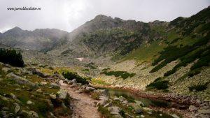 trekking on Musala peak