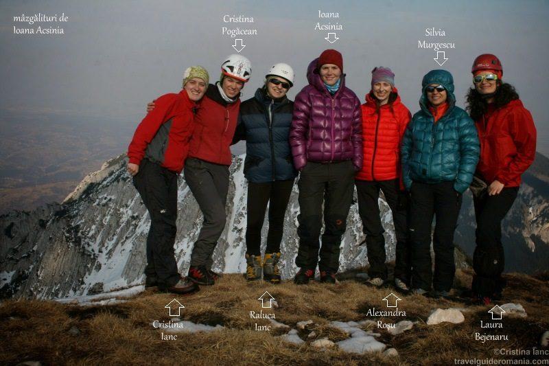 echipa feminina alpinism romania
