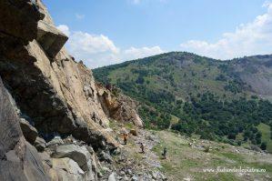 escalada muntii macin