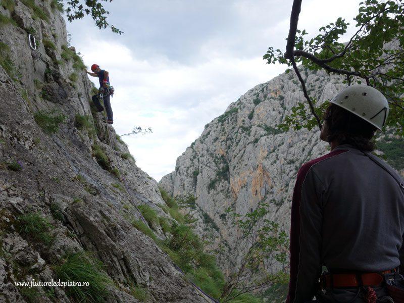 parcul national paklenica alpinism