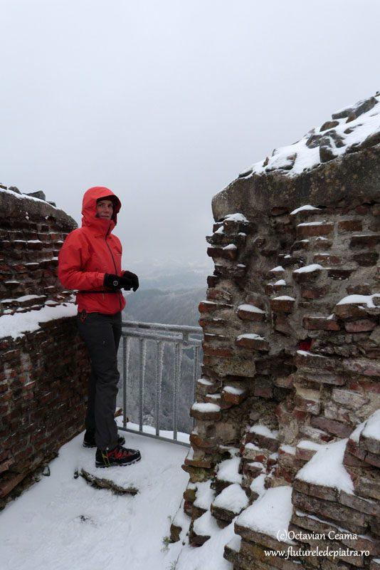 cetatea poienari, cetatea celor 1000 trepte