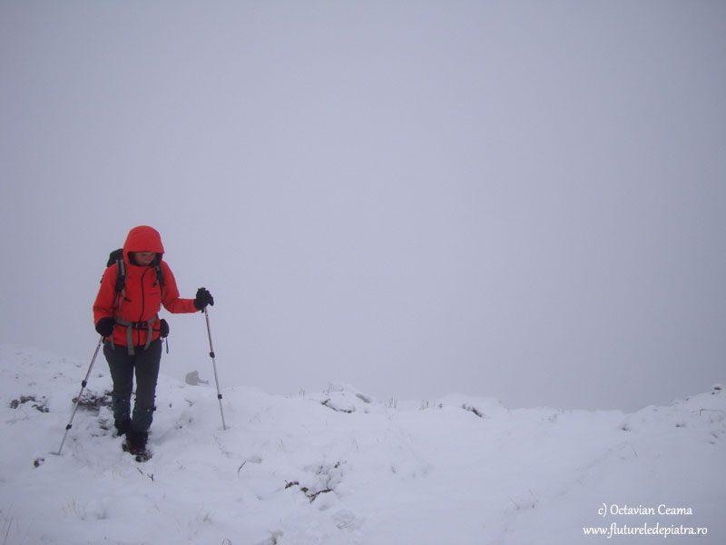 iarna la munte, carpati