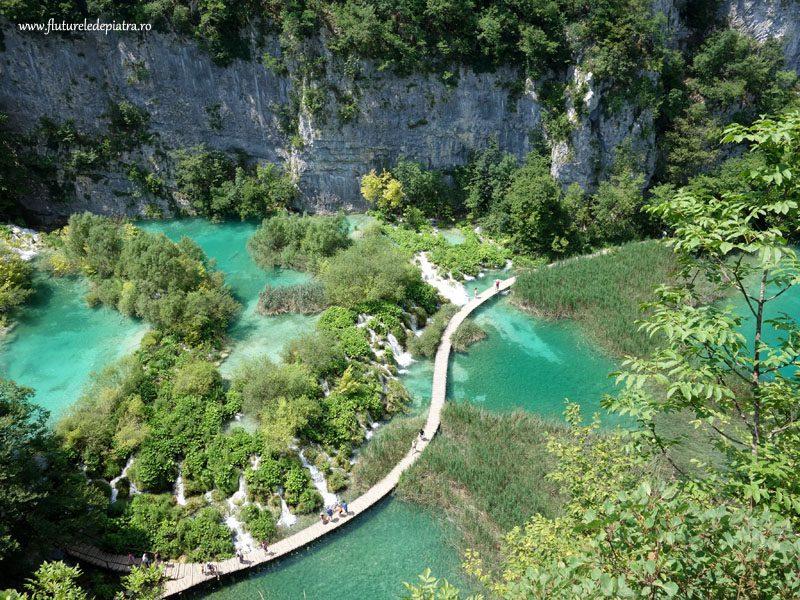 plitvice croația peisaj