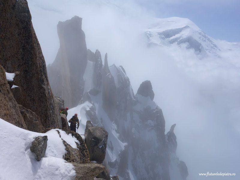 alpinism în masivul Mont Blanc