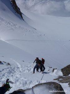 traverse of pointe lachenal_mont blanc (22)