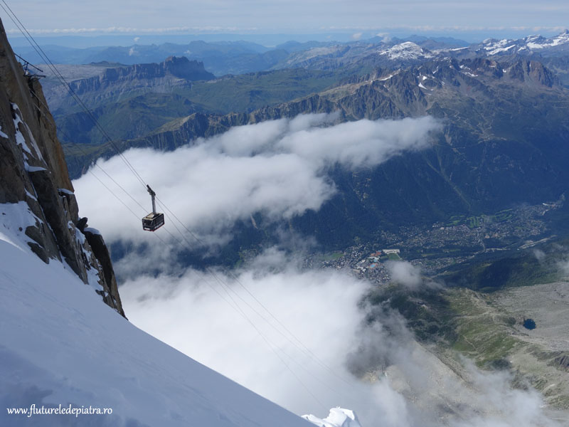 telecabina Chamonix-Aiguille du Midi