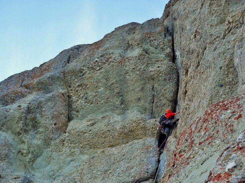 climbing in Romania Muntii Bucegi