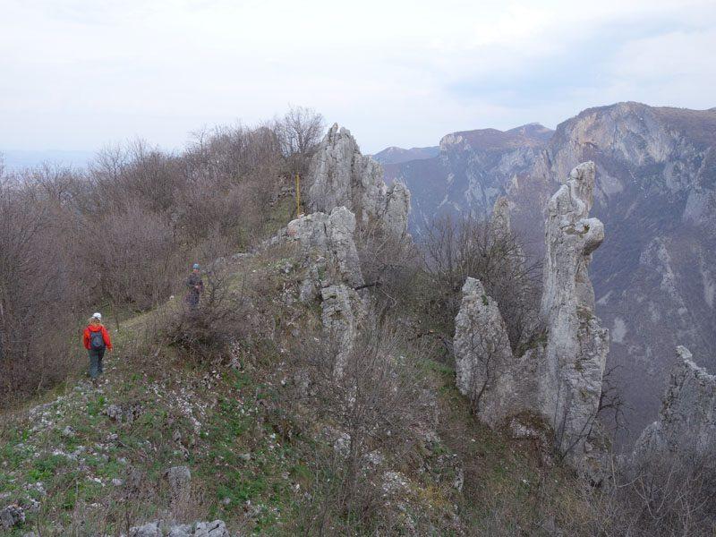 coborare peretele central vratsa, bulgaria