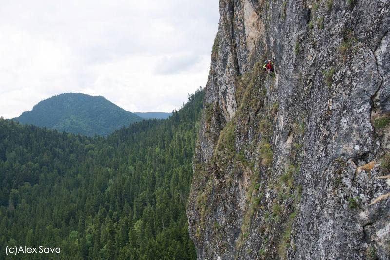 panorama cheile bicazului alpinism