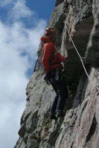 Cosmin Andron, catarare in Alpi