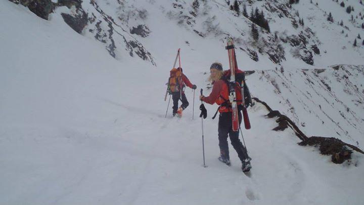 iuliana enache la schi de tura interviu alpinism
