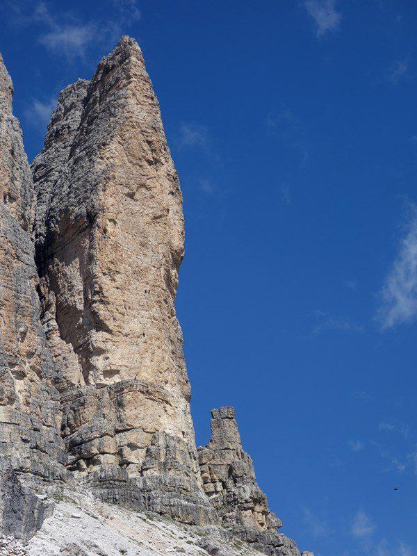 Cima Piccolissima, Tre Cime di Lavaredo plimbare turistica prin dolomiti