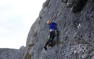 Poseidon, Peretele Coștilei, alpinism muntii carpati romania