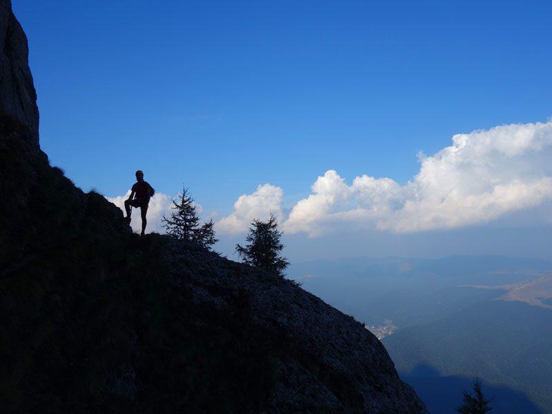 alpinist romania muntii bucegi carpati